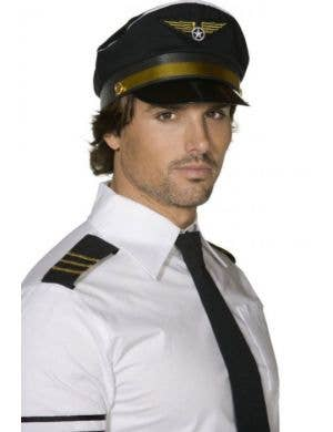 Airplane Captain Pilots Hat