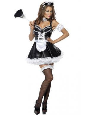 Flirty French Maid Women's Sexy Costume
