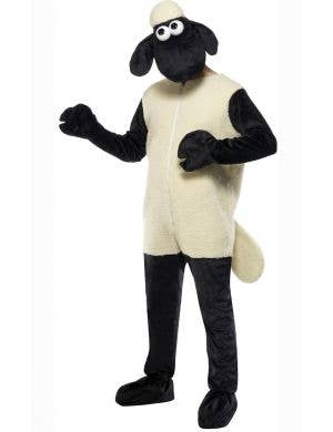 Men's Shaun The Sheep Fancy Dress Costume Front View