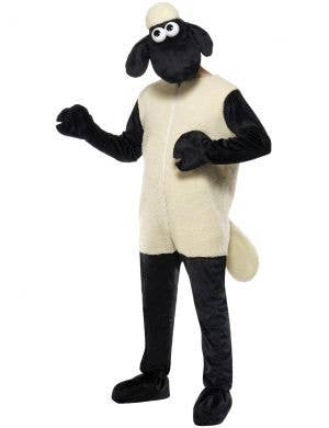 Men's Shaun The Sheep Fancy Dress Costume Front View