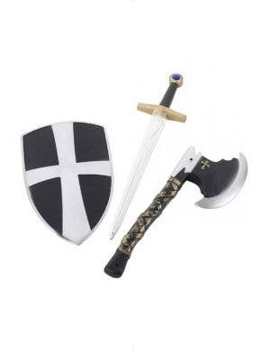 Knight Crusader Kids Axe and Shield Set
