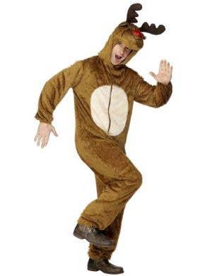 Christmas Reindeer Men's Onesie Costume