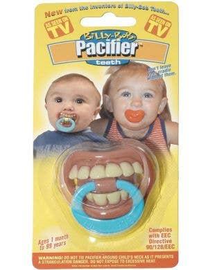 Little Vampire Pacifier Baby's novelty halloween dummy main image
