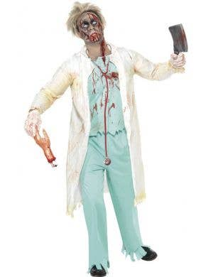 Zombie Surgeon Men's Halloween Costume