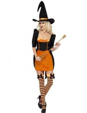 Pumpkin Witch Women's Halloween Costume