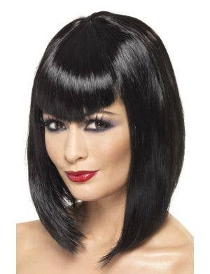 Mavis Vamp Halloween Women's Black Costume Wig