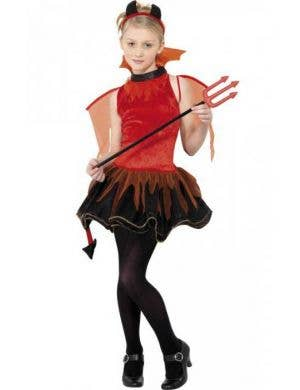 girls red devil costume front view red devil teen girls halloween costume