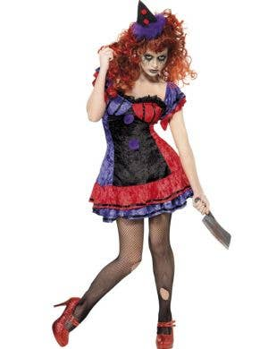 Bo Bo The Clown Women's Halloween Costume