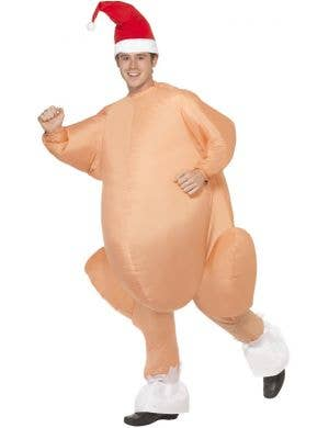Inflatable Roast Turkey Novelty Men's Costume