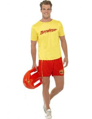 Men's Baywatch Lifeguard Costume Main Image