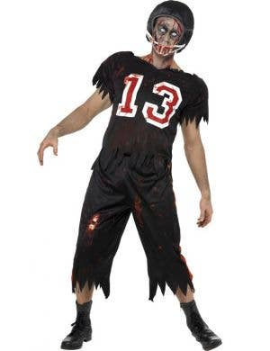 High School Horror American Footballer Zombie Costume