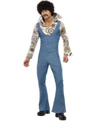 Groovy Dancer Men's 70's Disco Fancy Dress Costume