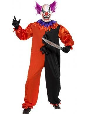 Bo Bo The Clown Men's Halloween Costume
