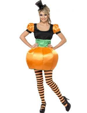 Women's Pumpkin Halloween Costume Main Image