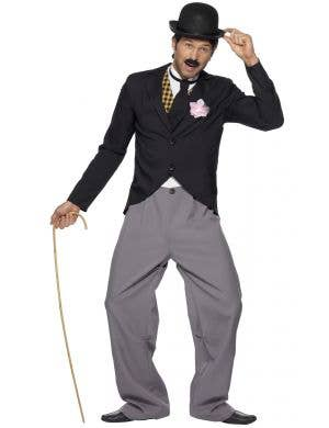 Men's 1920's Charlie Chaplin Fancy Dress Costume Image 1