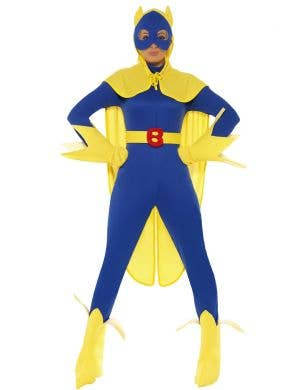Women's Superhero Bananaman Costume Image 1