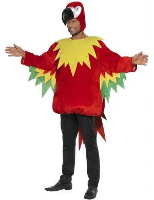 Tropical Polly Parrot Costume for Adults Main Image