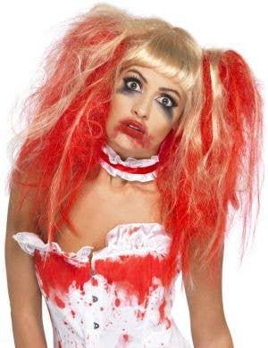 Blood Drip Women's Zombie Halloween Wig