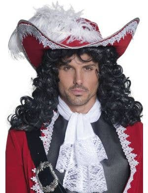 Authentic Red Velvet Pirate King Hat