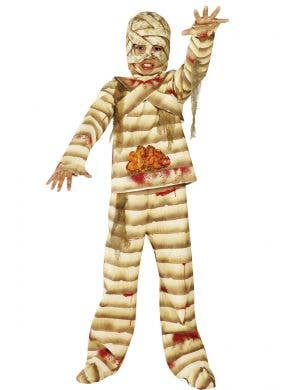 Creepy Mummy Boys Halloween Costume Main Image