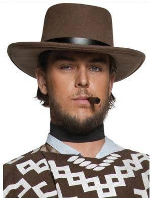 Authentic Western Wandering Gunman Men's Brown Hat