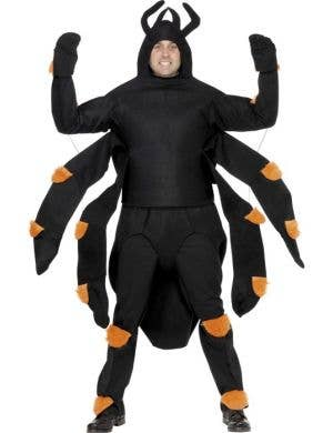 Crawling Black Spider Men's Halloween Costume