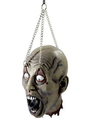 Dismembered Latex Head Halloween Decoration