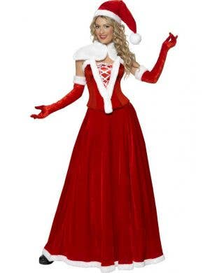 Luxury Miss Santa Women's Christmas Costume