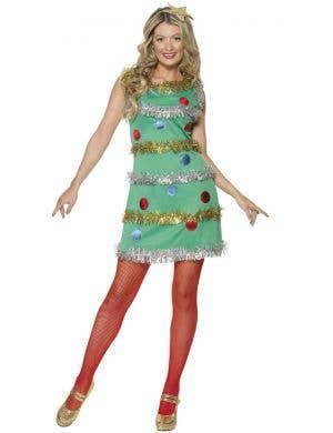 Christmas Tree Women's Festive Fancy Dress Costume