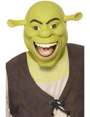 Adult's Green Ogre Shrek Latex Costume Mask
