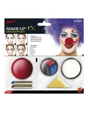 Grease Paint Clown Make Up Kit