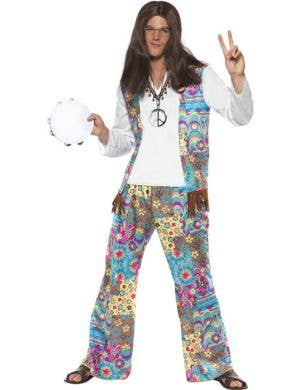 Groovy Hippie Men's 70's Costume