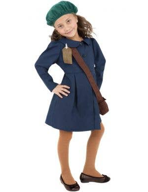 1940's World War 2 Evacuee Girls Costume