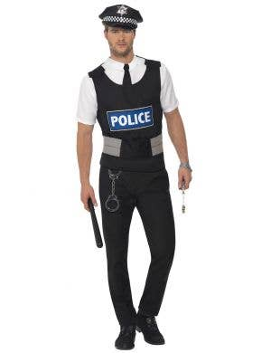 Instant Police Officer Uniform Costume for Men Image 1