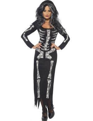 Deadly Skeleton Women's Halloween Costume