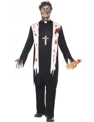 Zombie Priest Men's Halloween Costume