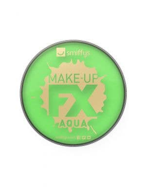 Aqua Based Lime Green Base Cake Makeup