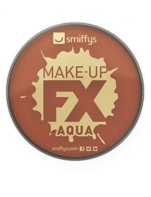 Water Activated Brown Makeup Facepaint