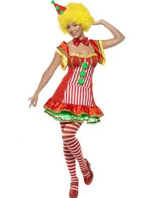 Boo Boo The Clown Women's Circus Costume