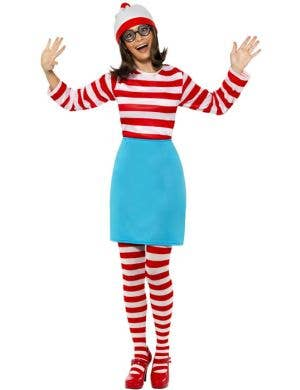 Where's Wally Women's Fancy Dress Costume
