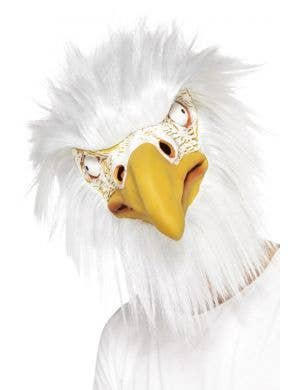 Eagle Adult's Overhead Latex Bird Costume Accessory Mask