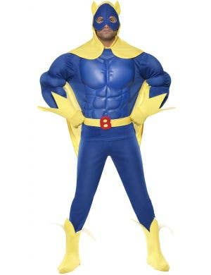 Bananaman EVA Muscle Chest Men's Deluxe Superhero Costume