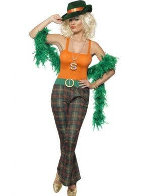 Pimpette Gangster Women's Fancy Dress Costume