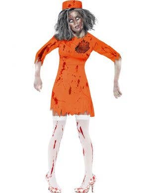 Death Row Diva Women's Halloween Zombie Costume