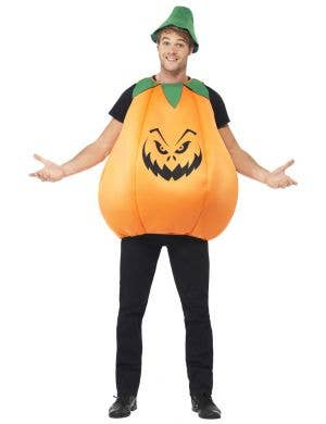 Evil Pumpkin Adult's Halloween Costume Main Image
