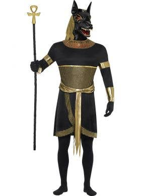 Anubis Jackal Men's Egyptian God Costume Front