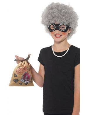 David Walliams Gangsta Granny Kid's Costume Accessory Kit