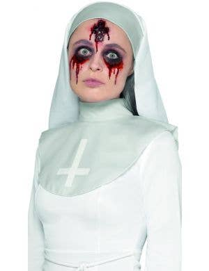 Gory Cross Latex Halloween Prosthetic