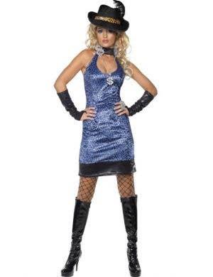 Leopard Print Sexy Pimp Lady Budget Costume