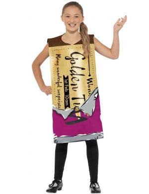 Winning Wonka Bar Kids Roald Dahl Costume